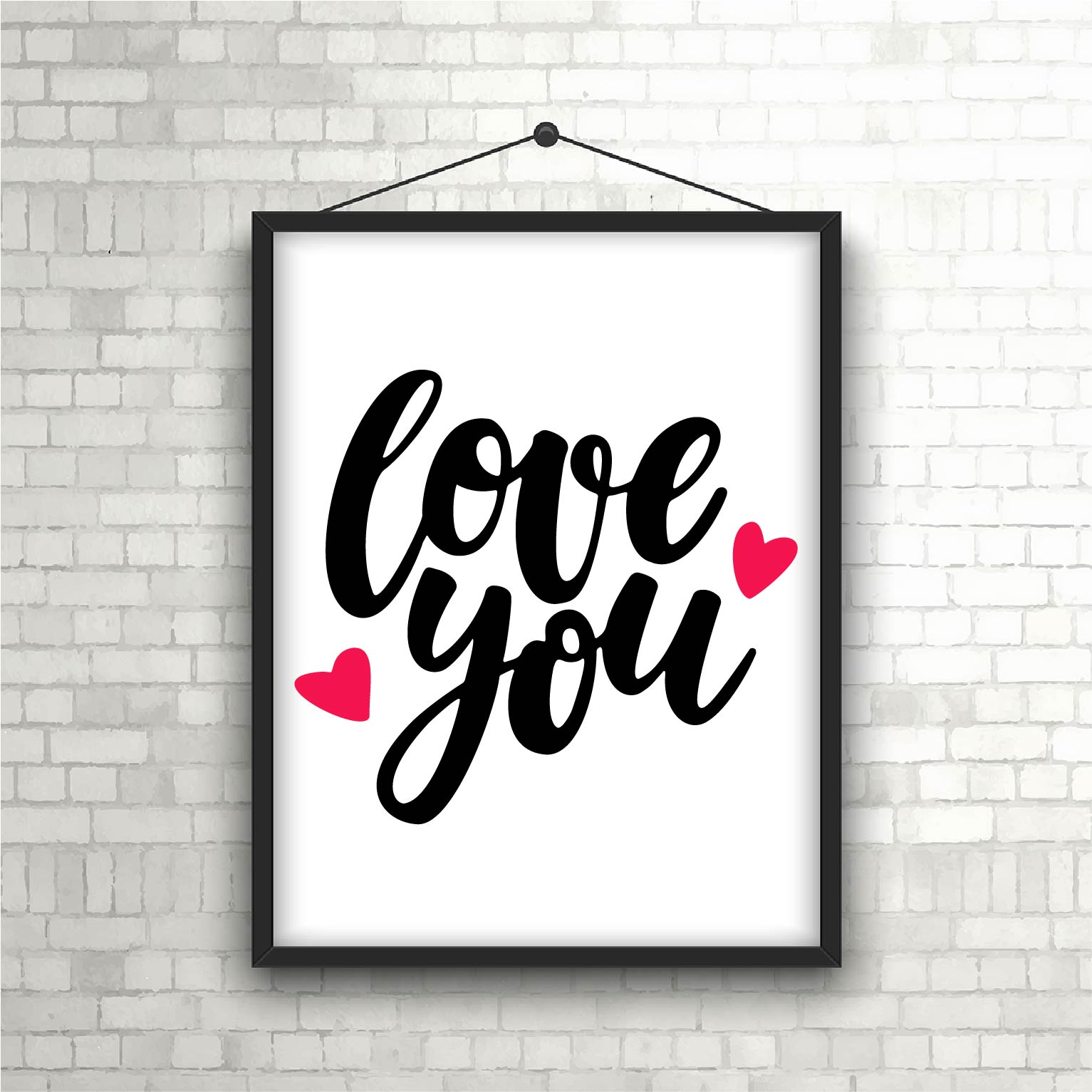 Download Valentine Love You SVG PNG Cutting File Design - The ...