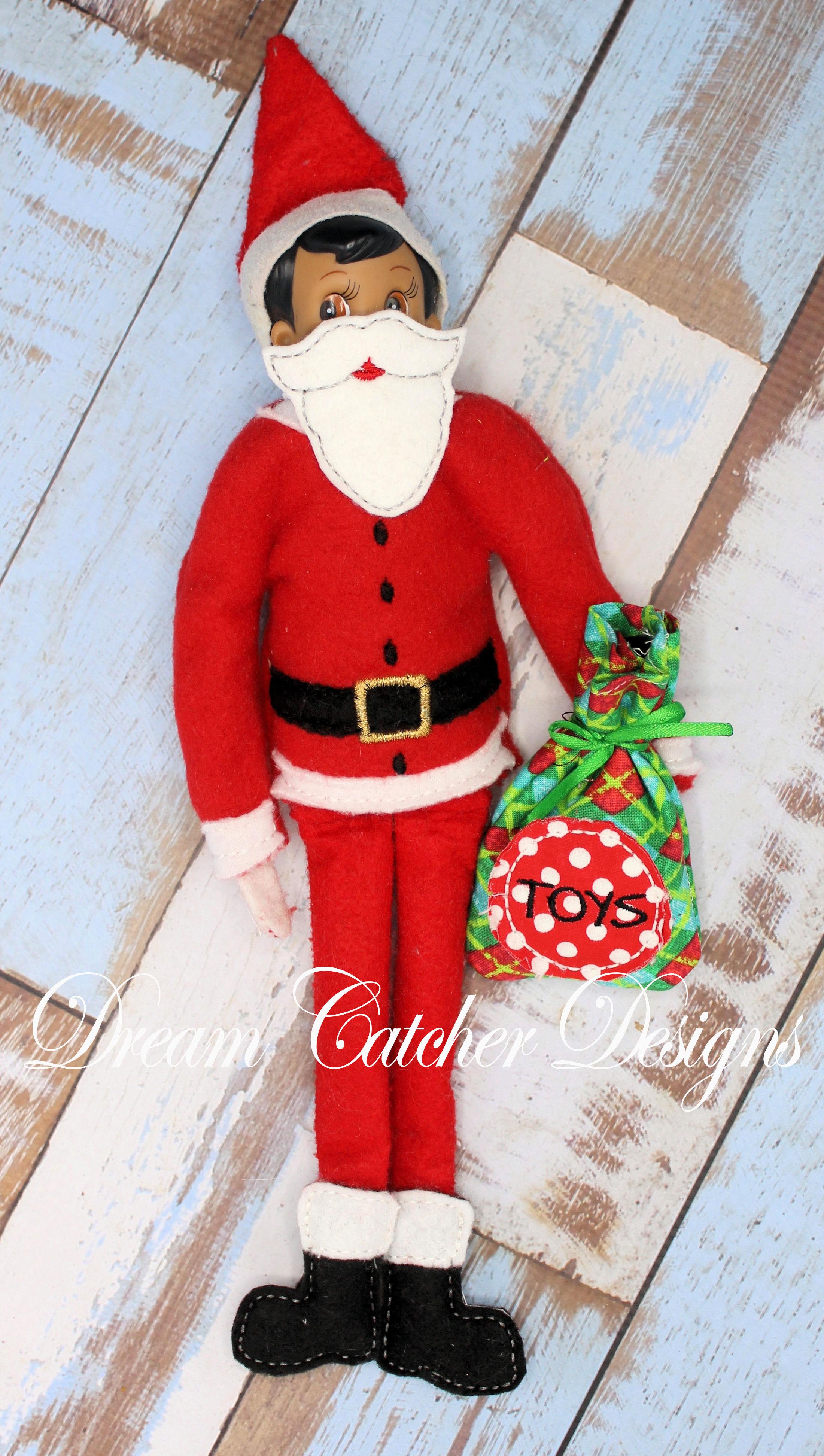 4c3c4c14678ba In The Hoop Santa Bundle Set Elf Doll Christmas Embroidery Design ...